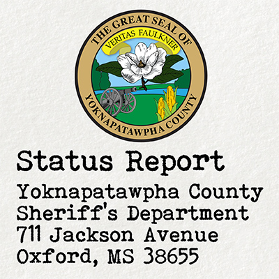 Report from YCSD Patrol