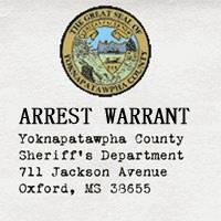 Arrest warrant for Ryan Rand